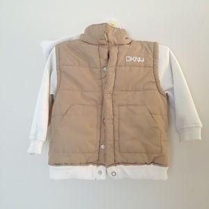 Tan & Cream Baby Jacket